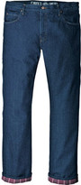 "Dickies Men's Relaxed Straight Fit Flannel-Lined Jean 30"" Inseam"