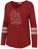 '47 Women's St. Louis Cardinals Court Side Long Sleeve T-Shirt