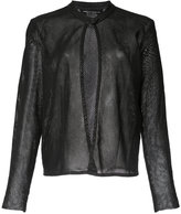 Majestic Filatures mesh jacket - women - Leather - 3