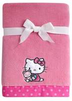 Hello Kitty Cute as a Button Coral Fleece Blanket