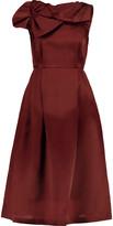 Raoul Asheville Rosette appliquéd silk-organza dress