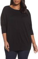 Sejour Plus Size Women's Dolman Sleeve Sweater