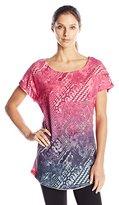 Desigual Women's Pink Dress T-Shirt