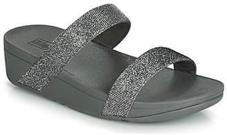 FitFlop LOTTIE GLITZY SLIDE women's Mules / Casual Shoes in Silver