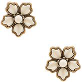 Marc jacobs flower stud earrings