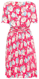 French Connection Cari Meadow Dress - 8 - Pink