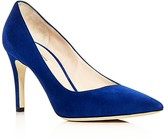 Giorgio Armani Asymmetrical Pointed Toe Pumps