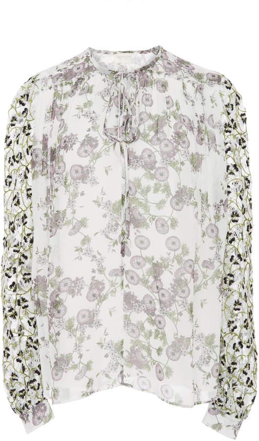Giambattista Valli Floral Printed Blouse