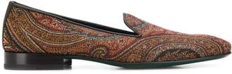 Etro paisley loafers