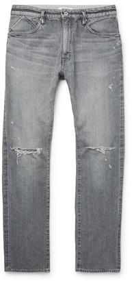 Nonnative Dweller Slim-Fit Distressed Selvedge Denim Jeans
