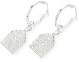 Loft & Daughter Kali Amulet Earrings Silver