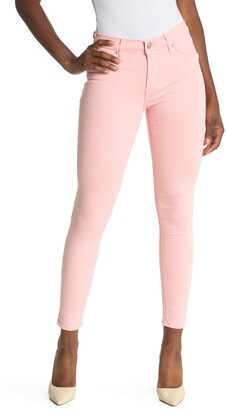 Hudson Natalie Midrise Ankle Skinny Jeans