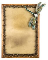 Jay Strongwater Embellished Dragonfly Picture Frame