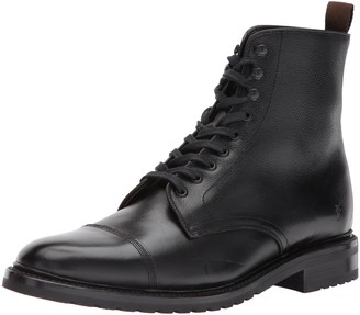 Frye Men's Officer Lace Up Combat Boot