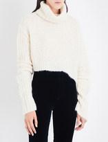 Ann Demeulemeester Turtleneck mohair and alpaca-blend jumper