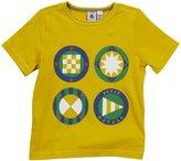 Petit Bateau 'Fraction' Shirt (Kids) - Yellow-10 Years
