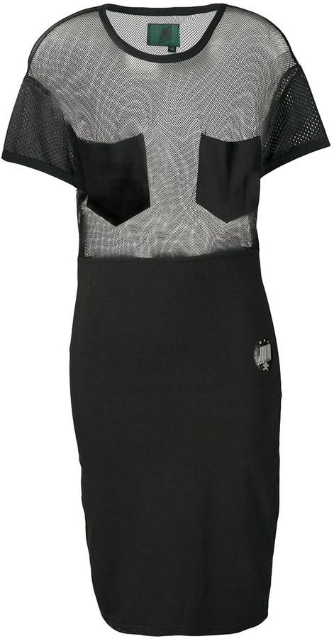 Jean Paul Gaultier Pre Owned Junior Gaultier sheer dress