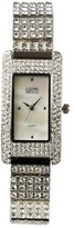 Eton Women's Quartz Watch with Mother of Pearl Dial Analogue Display and Silver Bracelet 2935L-Wt
