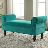 Linon Lillian Teal Bench