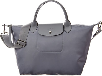 Longchamp Le Pliage Medium Nylon Short Handle Tote