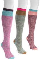 Muk Luks Women's Color Block Knee High Socks