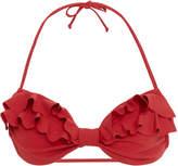 Marysia Swim Zuma Double Ruffle Bikini Top