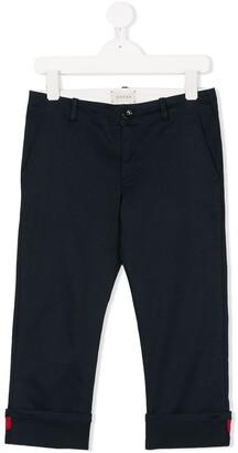 Gucci Kids GG Web tailored trousers