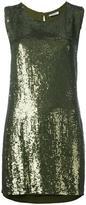 P.A.R.O.S.H. sequined mini dress - women - Viscose/PVC - S