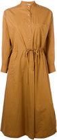 Veronique Leroy - wrap dress - women - Cotton - 38
