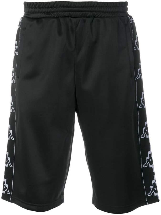 Marcelo Burlon County of Milan Kappa print shorts