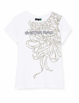 G Star G-Star girl TEE SHIRT ORGANIC SLIM SHORT SLEEVES