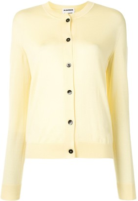 Jil Sander Buttoned Long-Sleeved Cardigan