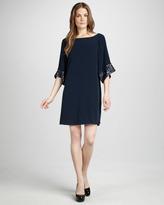 Elizabeth and James Elisa Sequin-Cuff Dress