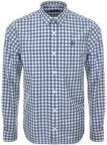 Henri Lloyd Long Sleeved Kelton Regular Shirt Blue