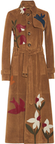 RED Valentino Suede Trench Coat