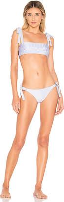 Zimmermann Bowie Tie Bandeau Bikini Set