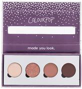 ColourPop x REVOLVE Pressed Powder Shadow Quad in Nude.