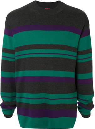 Caban Striped Knit Jumper
