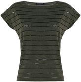 Piazza Sempione striped T-shirt