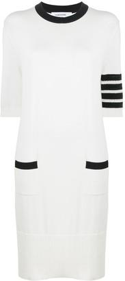 Thom Browne 4-Bar Stripe Dress