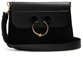 J.W.Anderson Pierce large leather and suede shoulder bag
