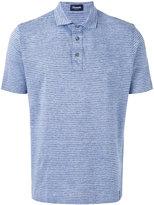 Drumohr striped polo shirt