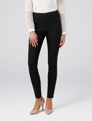 Forever New Stephanie Pull On Skinny Pants - Black - 4