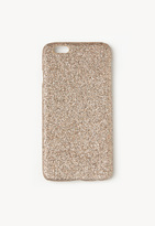 Missguided Gold Glitter iPhone 6 Case