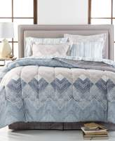 Sunham Jetson Reversible 8-Piece Full Bedding Ensemble
