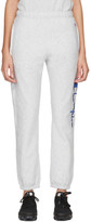 Champion Reverse Weave Grey Big Script Lounge Pants