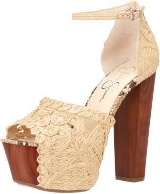 Jessica Simpson Women's Dessie Platform Sandal Heeled