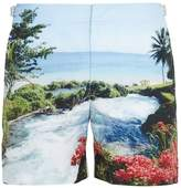 Orlebar Brown Bulldog Photographic-print mid-length swim shorts