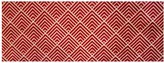 Pottery Barn Jamett Indoor/Outdoor Washable Mat - Red