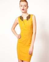 Ted Baker Embellished Collar Dress